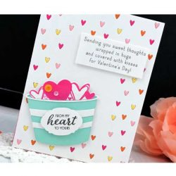 Ink To Paper Tag Creations: Delightful Hearts Mini Stamp Set