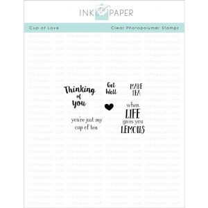 Ink To Paper Cup Of Love Mini Stamp Set