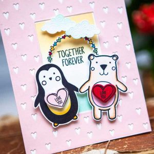 Ink To Paper Critter Love Mini Stamp Set class=