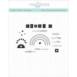 Ink To Paper Simply Sweet: Sending Stamp Set