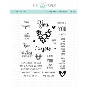 Ink To Paper All About You Stamp Set