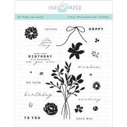 Ink To Paper Birthday Bouquet Stamp Set