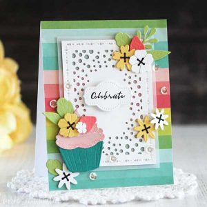Ink To Paper Sweet Celebration Mini Stamp Set class=