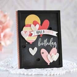 Ink To Paper Balloon Wishes Stamp Set