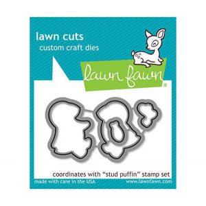 Lawn Fawn Stud Puffin Lawn Cuts