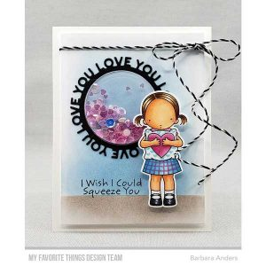 My Favorite Things Love You Circle Frame Die-namics class=