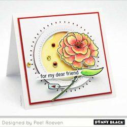 Penny Black Dear Friend Cut-Out Die