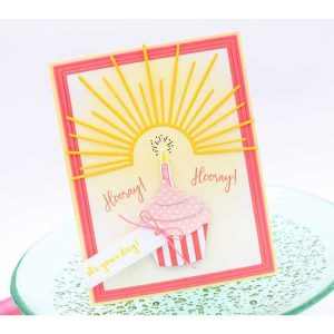 Ink To Paper Border Bling: Skinny Embossed Frame Die class=