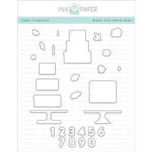 Ink To Paper Cake Creations Die