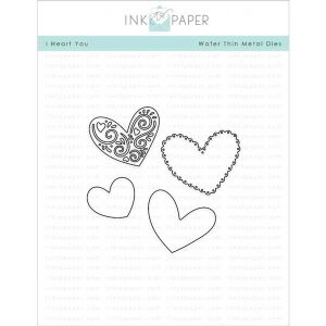 Ink To Paper I Heart You Die Set