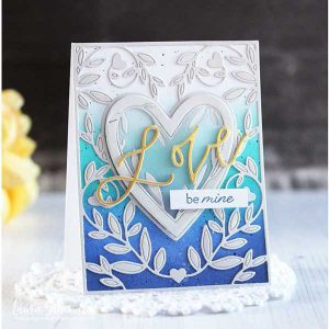 Ink To Paper On The Border: From The Heart Frame Die class=