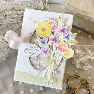 Ink To Paper Birthday Bouquet Die class=