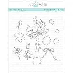 Ink To Paper Birthday Bouquet Die
