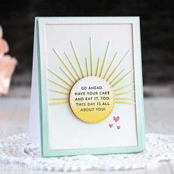 Ink To Paper Border Bling: Skinny Dotted Frame Die