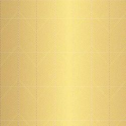 American Crafts Jen Hadfield Gold Foil Accent Cardstock - Chevron
