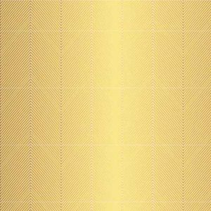 American Crafts Jen Hadfield Gold Foil Accent Cardstock - Chevron class=