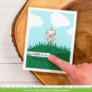 Lawn Fawn Charge Me Up Stamp Set class=