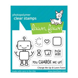 Lawn Fawn Charge Me Up Stamp Set