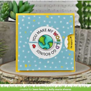 Lawn Fawn Reveal Wheel Circle Sentiments Stamp Set class=