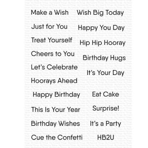 My Favorite Things Little Birthday Notes
