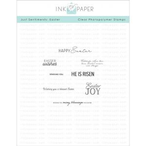 Ink To Paper Just Sentiments: Easter Mini Stamp Set
