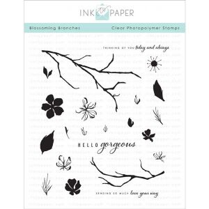 Ink To Paper Blossoming Branches Stamp Set