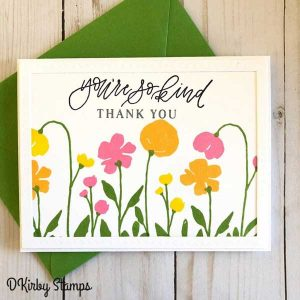 Ink To Paper Bold Blooms Stamp Set class=