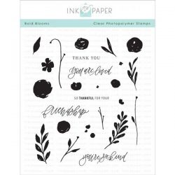 Ink To Paper Bold Blooms Stamp Set