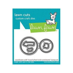 Lawn Fawn Reveal Wheel Circle Sentiments Lawn Cuts