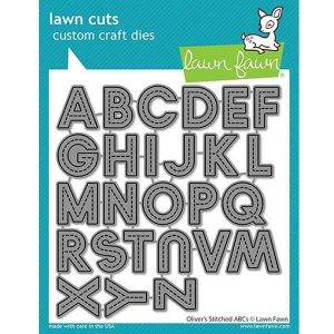 Lawn Fawn Oliver's Stitched ABC's