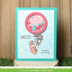 Lawn Fawn Stitched Balloon Frames class=