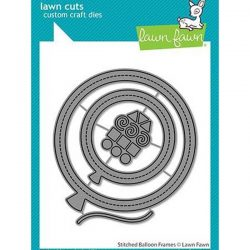 Lawn Fawn Stitched Balloon Frames