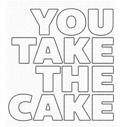My Favorite Things You Take the Cake Die-namics
