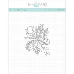 Ink To Paper Bouquet Backdrop Die