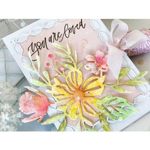 Ink To Paper Bouquet Backdrop Die class=