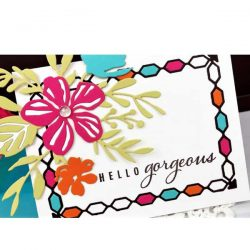 Ink To Paper Border Bling: Chain Die
