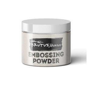 Brutus Monroe Ultra Fine Embossing Powder – Alabaster White