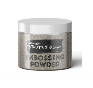 Brutus Monroe Ultra Fine Embossing Powder - Sterling