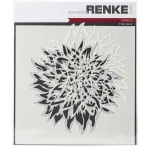 Alexandra Renke Dahlia Stencil Set