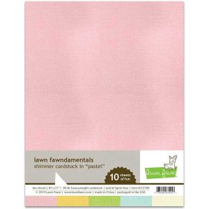 Lawn Fawn Shimmer Cardstock – Pastel