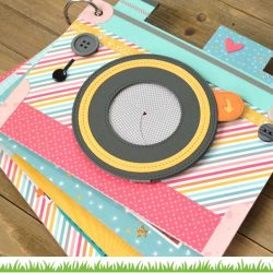 Lawn Fawn Hello Sunshine Remix Petite Paper Pack – 6″ x 6″