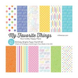 My Favorite Things Birthday Brights Paper Pack