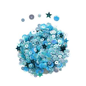 Dress My Craft Sequins - Sea Breeze