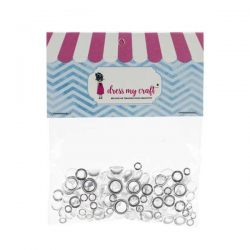 Dress My Craft Clear Water Droplets - Assorted