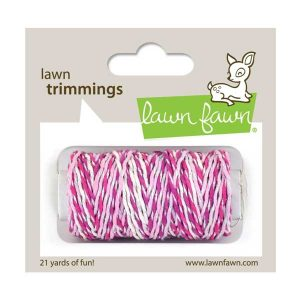 Lawn Fawn Trimmings Sparkle Hemp Cord - Pretty In Pink