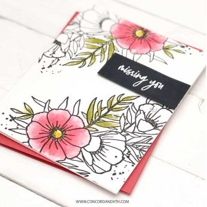 Concord & 9th Meadow Blossoms Stamp Set class=
