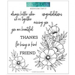 Concord & 9th Meadow Blossoms Stamp Set