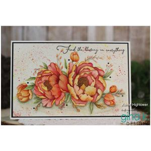 Gina K Designs Majestic Peony Stamp Set class=