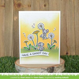 Lawn Fawn Dandy Days Stamp Set class=