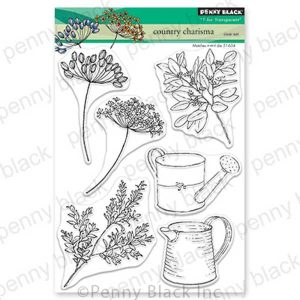 Penny Black Country Charisma Clear Stamp Set